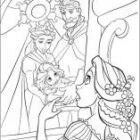 rapunzel coloring pages 5 140x140 Rapunzel Coloring Pages