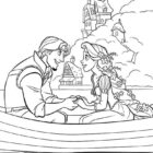 rapunzel coloring pages 7 140x140 Rapunzel Coloring Pages