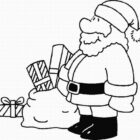 Santa Coloring Pages (11)