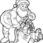 Santa Coloring Pages (14)