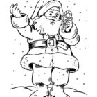 Santa Coloring Pages (21)