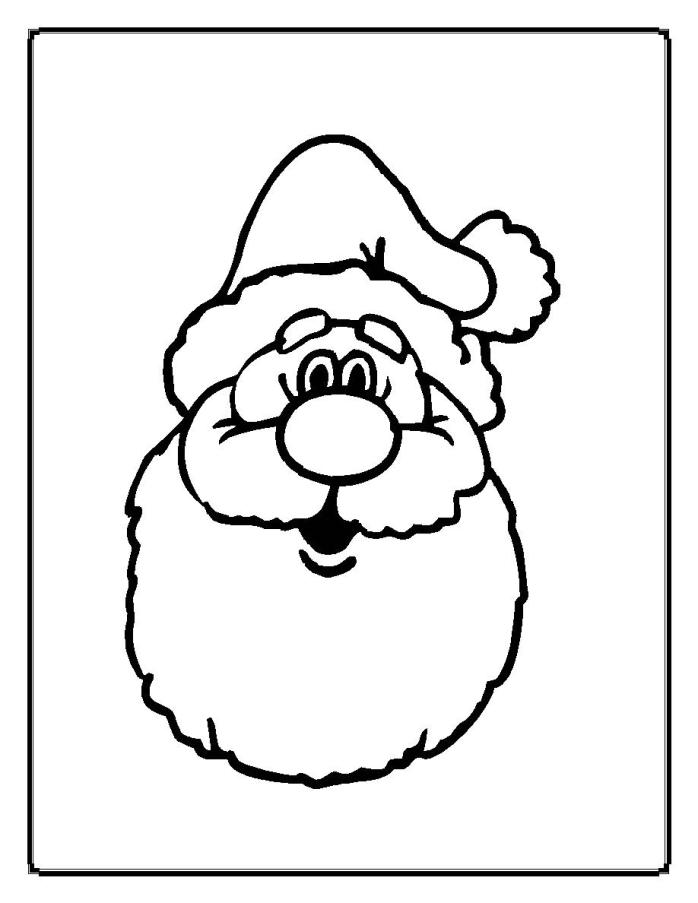 Santa Coloring Pages (6)