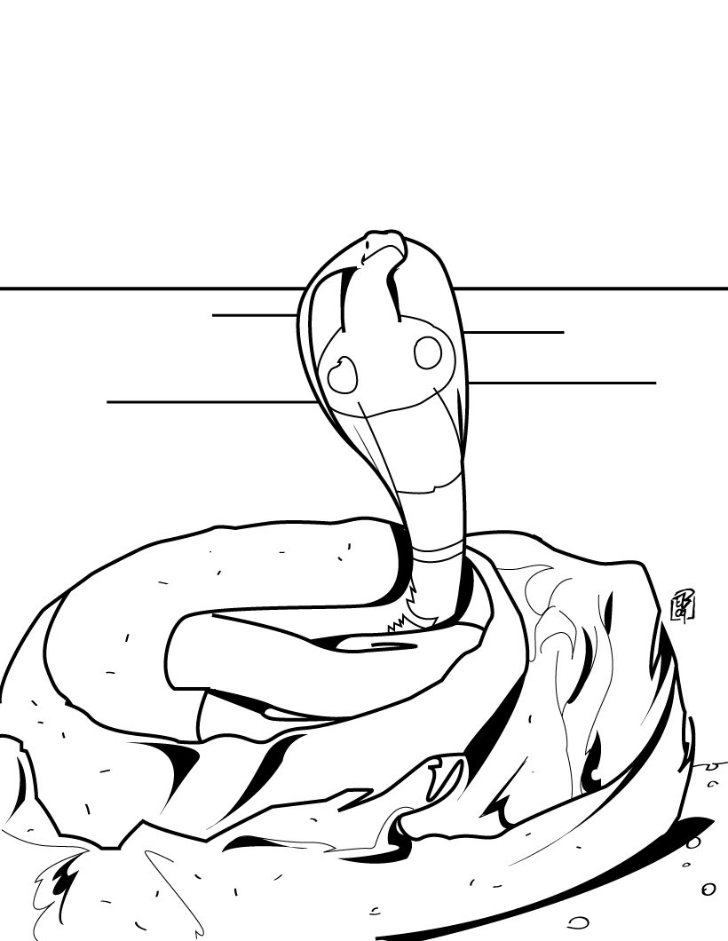 Snake Coloring Pages (1)