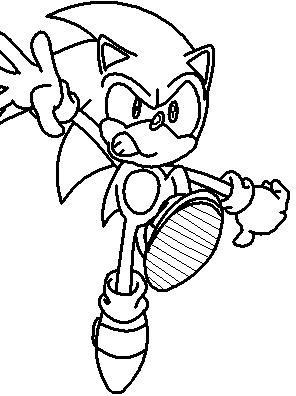 Sonic Coloring Pages 11  Coloring Kids
