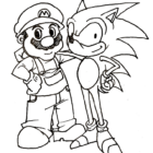 sonic coloring pages 3 140x140 Sonic Coloring Pages