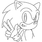 sonic coloring pages 4 140x140 Sonic Coloring Pages