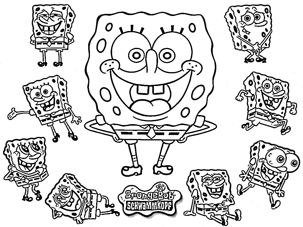 download spongebob coloring pages 6