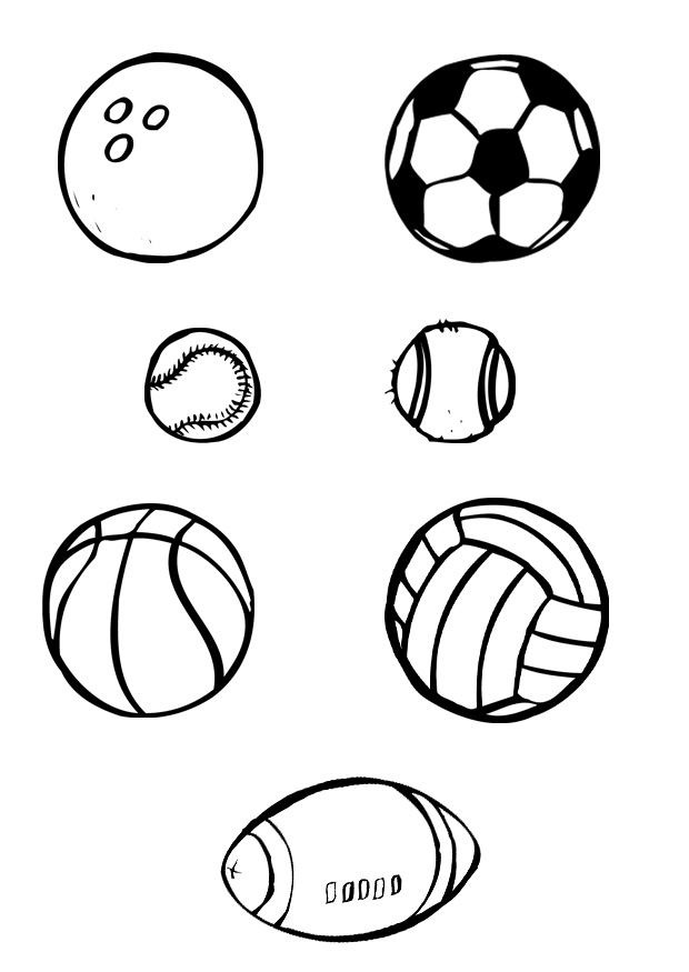 Sports Coloring Pages (12) - Coloring Kids
