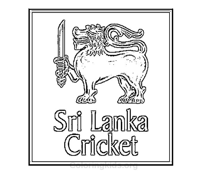 srilankacricketlogopng1 Coloring Kids