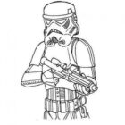 star wars stormtrooper coloring page