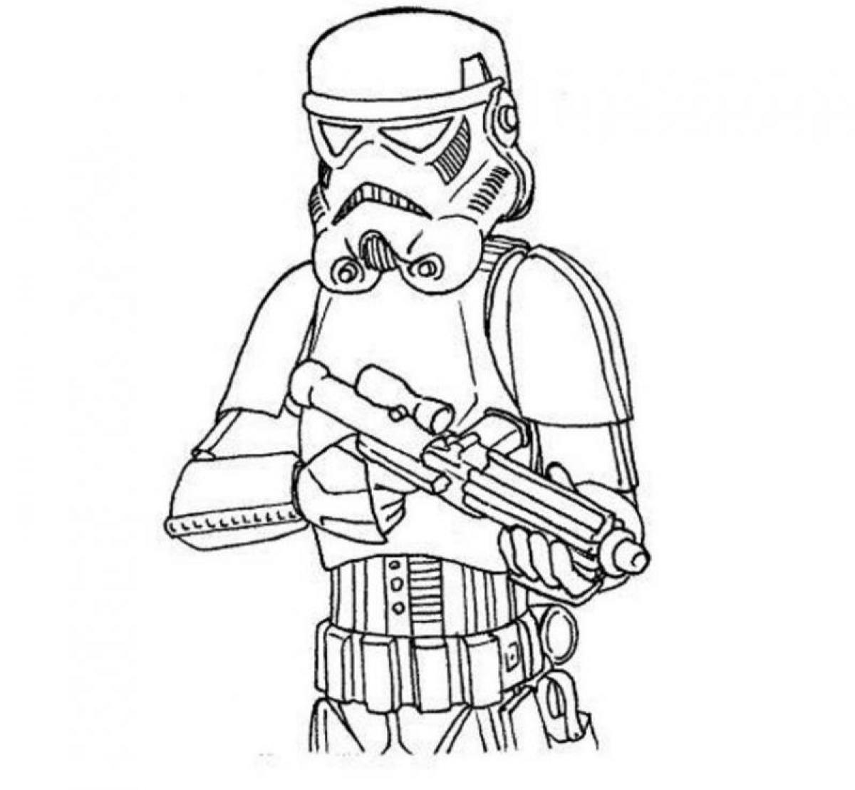 star wars stormtrooper coloring page Coloring Kids