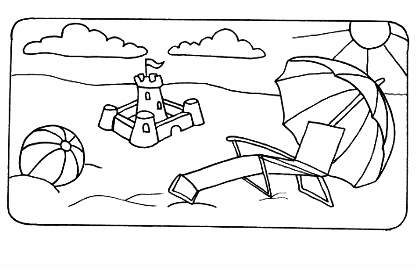download summer coloring pages 14 - Coloring Pages Summer Vacation
