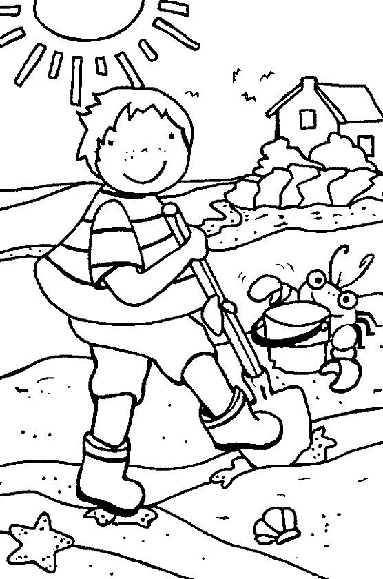 Download Summer Coloring Pages 15 Print