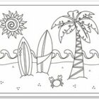 Summer Coloring Pages (2)