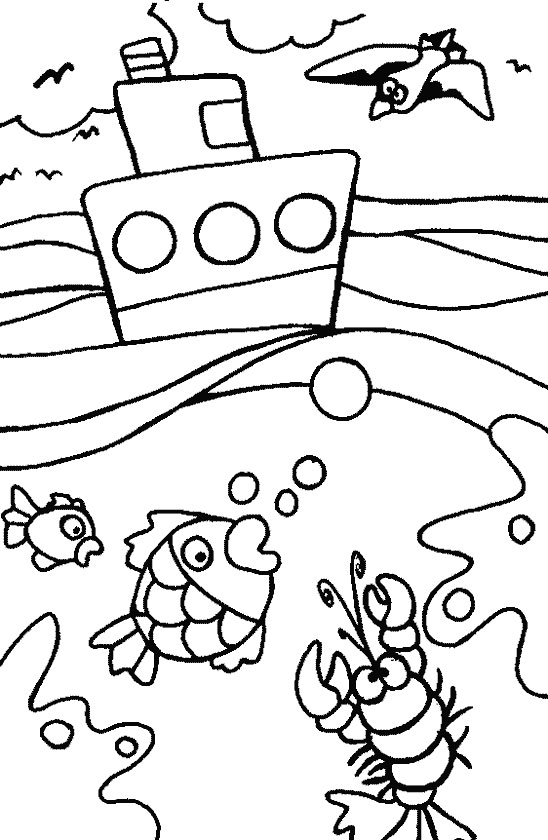 Download Summer Coloring Pages 6