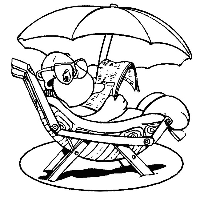 Summer Coloring Pages 9  Coloring Kids