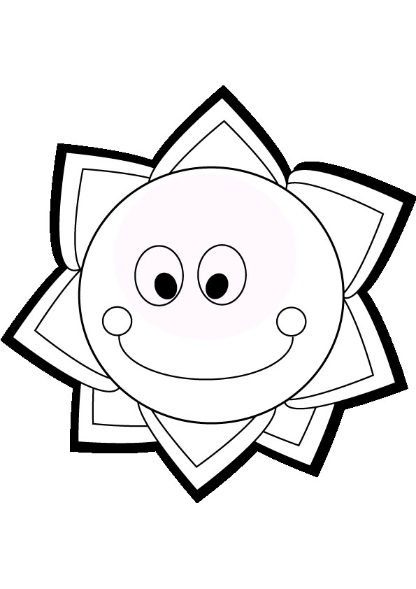 Sun Coloring Pages 9 Coloring Kids