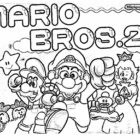 Super Mario Coloring Pages (13)
