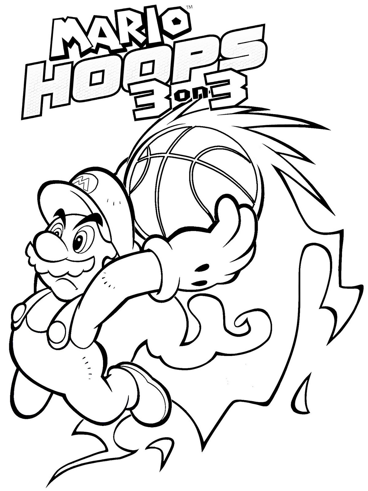 Super Mario Coloring Pages 2