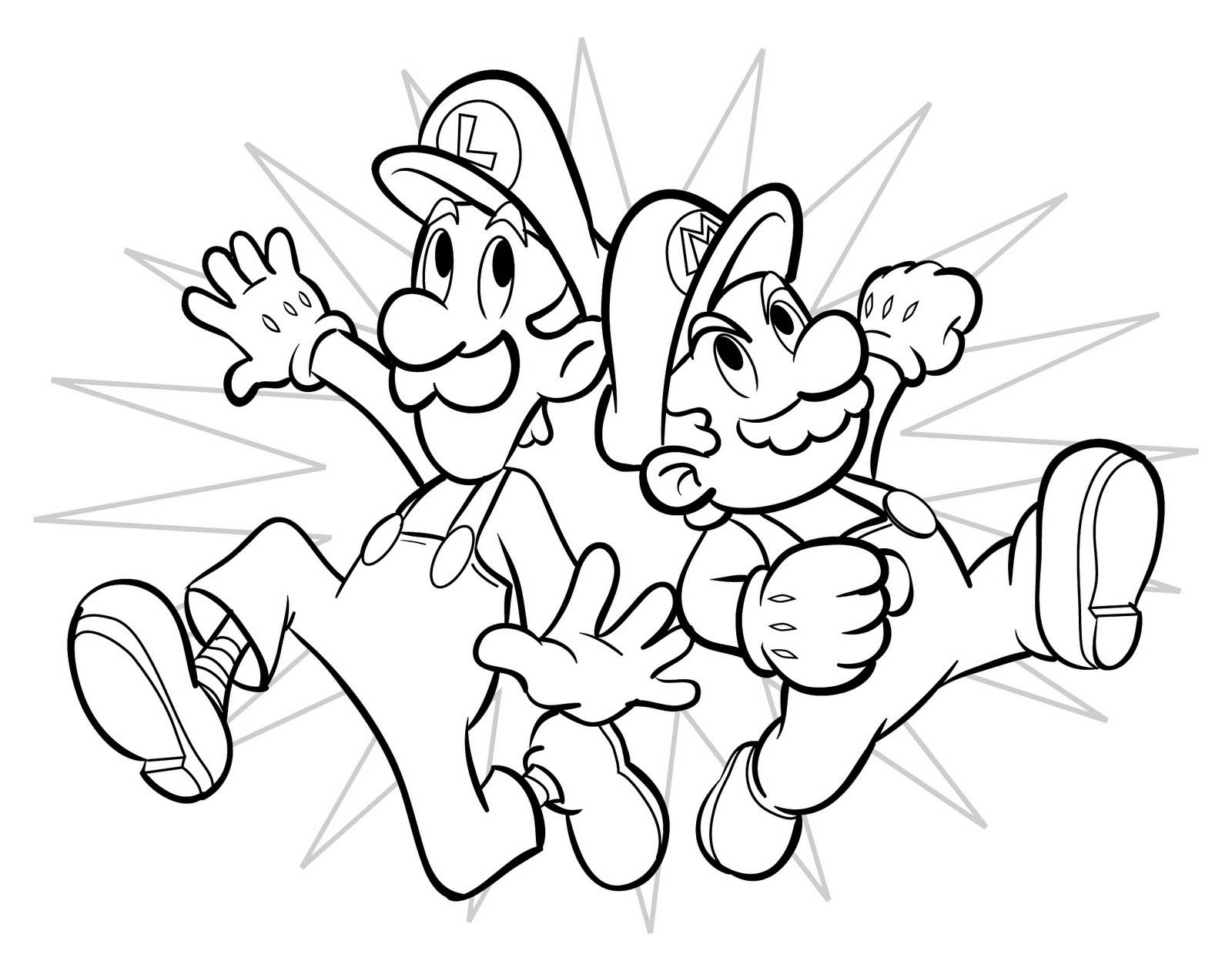 Super Mario Coloring Pages 3