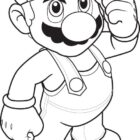 Super Mario Coloring Pages (9)