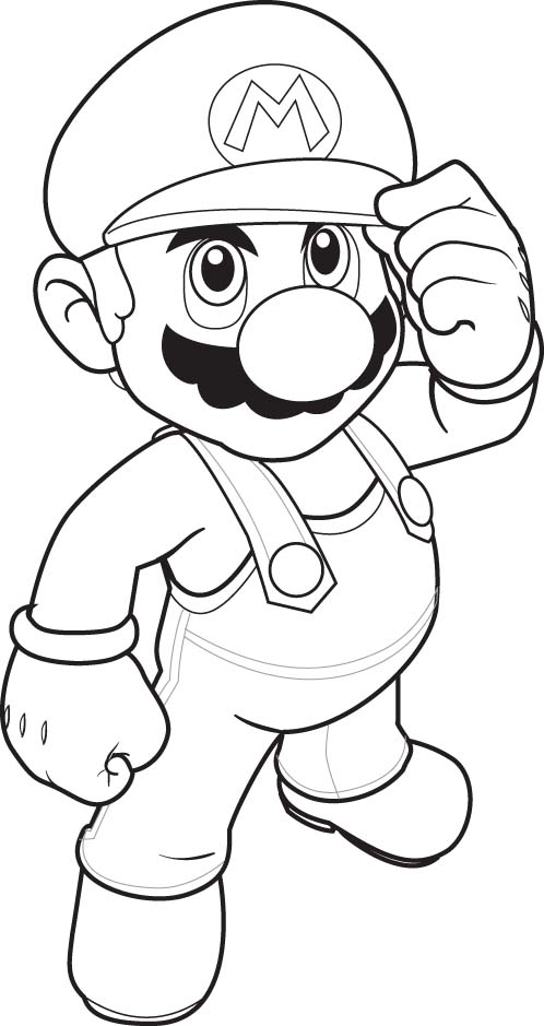 Download Super Mario Coloring Pages 9