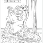 Tangled Coloring Pages (11)