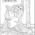 Tangled Coloring Pages (13)
