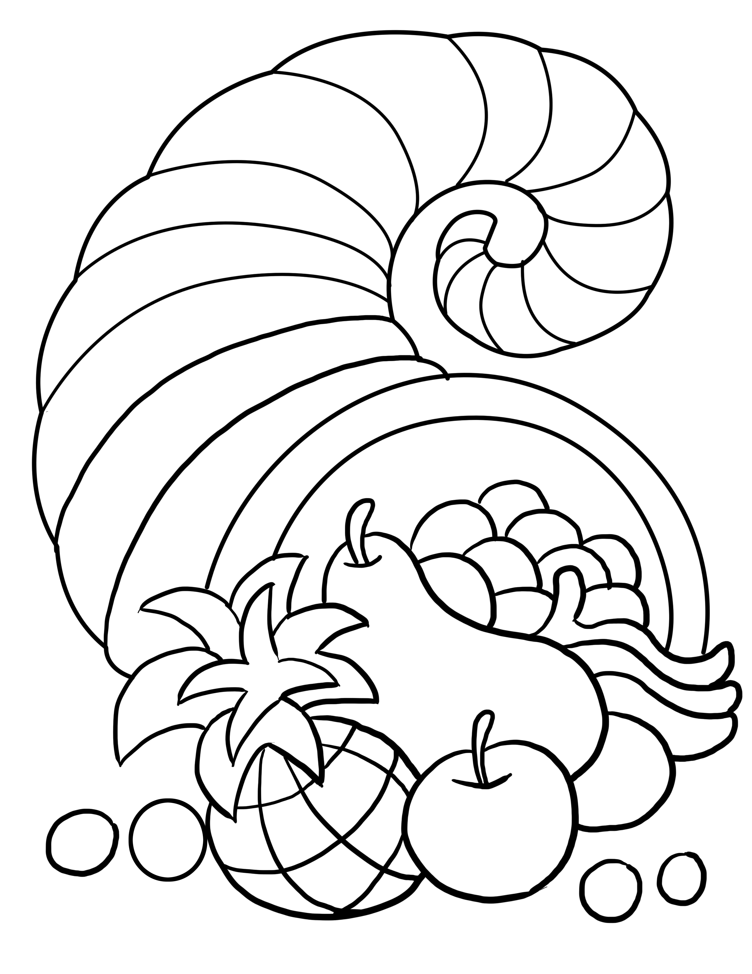 Thanksgiving Coloring Pages (1)