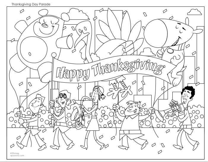 Thanksgiving Coloring Pages Download Coloring Pages
