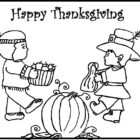 Thanksgiving Coloring Pages (3)