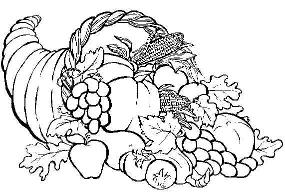 Download Thanksgiving Coloring Pages 6