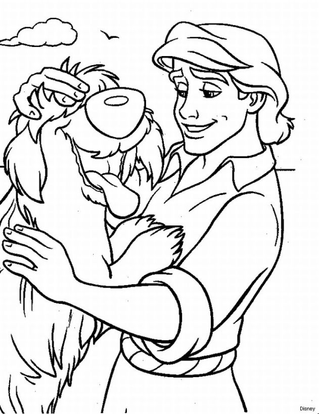 The Little Mermaid Coloring Pages 1  Coloring Kids