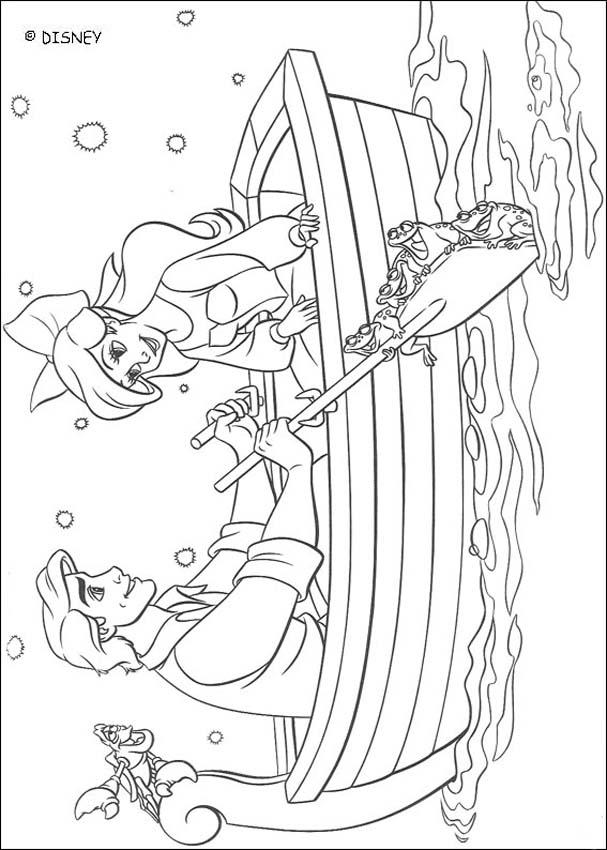 Little Mermaid Kissing Coloring Pages Coloring Coloring Pages