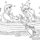 the little mermaid coloring pages4 140x140 The Little Mermaid Coloring Pages