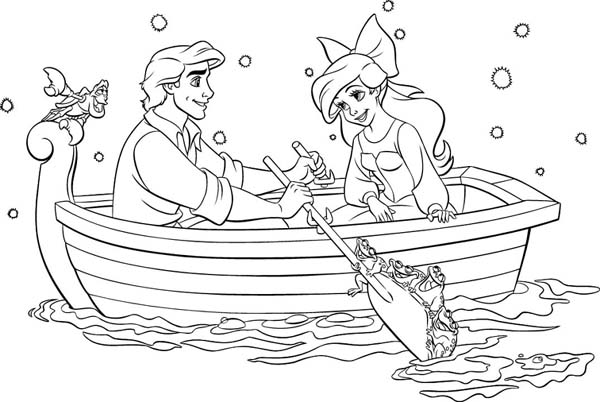 download the little mermaid coloring pages4