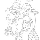 The-Little-Mermaid-Coloring-Pages7