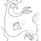 the little mermaid coloring pages8 140x140 The Little Mermaid Coloring Pages