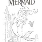 the little mermaid coloring pages9 140x140 The Little Mermaid Coloring Pages