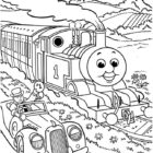 thomas the tank engine coloring pages 12 140x140 Thomas the Tank Engine Coloring Pages