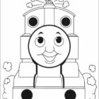 thomas the tank engine coloring pages 13 140x140 Thomas the Tank Engine Coloring Pages