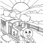 thomas the tank engine coloring pages 14 140x140 Thomas the Tank Engine Coloring Pages