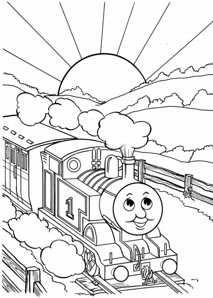 download thomas the tank engine coloring pages 14
