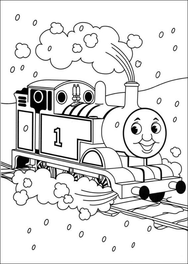 Thomas the Tank Engine Coloring Pages 15 Coloring Kids