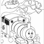 thomas the tank engine coloring pages 16 140x140 Thomas the Tank Engine Coloring Pages
