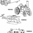 thomas the tank engine coloring pages 18 140x140 Thomas the Tank Engine Coloring Pages