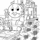 thomas the tank engine coloring pages 19 140x140 Thomas the Tank Engine Coloring Pages