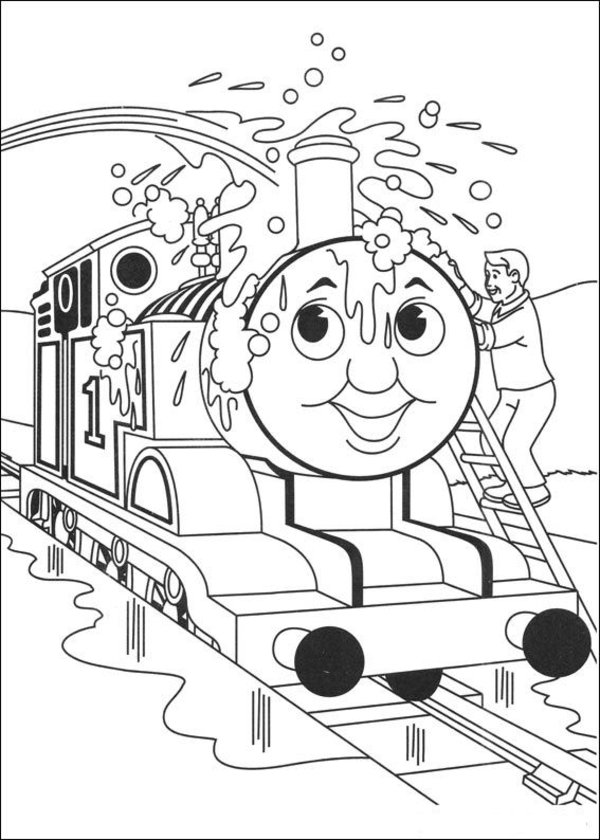 coloring pages thomas tank engine - photo#22
