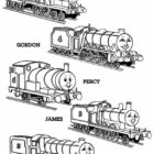 thomas the tank engine coloring pages 5 140x140 Thomas the Tank Engine Coloring Pages