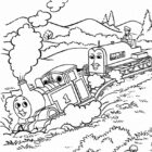 thomas the tank engine coloring pages 6 140x140 Thomas the Tank Engine Coloring Pages